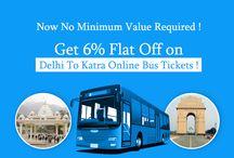 Delhi To Katra Online Bus Tickets