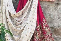 2695 Non S782 Wedding lehenga choli / Featuring a blush peach color blouse intricate in zari and heavily worked in dori comes along with flower and leafs designed in zari and sequins giving a prefect look to your mehendi ceremony. It comes along royal white cotton linen blend dupatta.