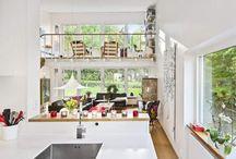 Öppet kök vardagsrum