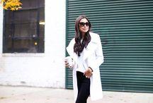 Classy: Dresses, coats, suits etc