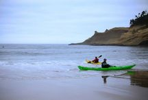 Lumpy Waters 2014 / The 6th Annual Lumpy Waters Symposium is a sea kayak event by Alder Creek Kayak & Canoe.  Held in Pacific City, OR, this 3-day symposium brings world-class coaches to 100 paddlers on the Oregon coast!