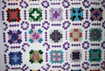 Patchwork of the crosses II / celé deky / quilts