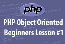 PHP Object Orientated Programming Tutorials / Tutorials on object oriented programming in PHP for beginners. This course covers: PHP class structures PHP class constants PHP class inheritance PHP class constructors Visibility scopes