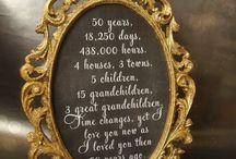 50th wedding ideas / by Maria Goeller