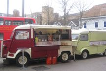 Citroen H Vans / Charismatic corrugated French vans now widely seen in the catering business!
