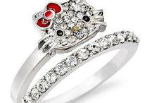 Hello Kitty Wedding Ring Design Ideas