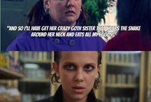 Gilmore girls and stranger things
