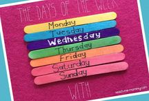 DAYS OF THE WEEK ACTIVITIES FOR CHILDREN