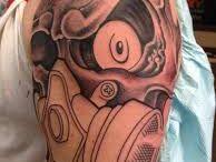 Mask Gas Tattoo