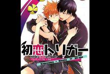 "Kageyama x Hinata    Doujinshi ""Haikyuu"" : Yaoi World / Images sur le thème du couple yaoi (ou boy's love): kageyama x Hinata Anime : haikyuu"
