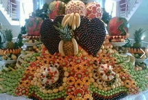 Outrageous Veggie Displays