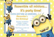 Invitaciones Minions