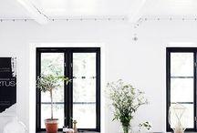 Svarta fönster
