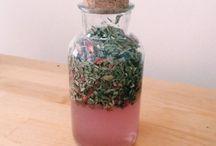 domáce recepty na sirupy, maste a oleje
