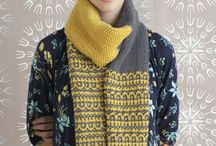 шарфы  и шали
