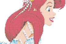 motifs perles et mosaiques
