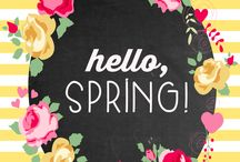 Springtastic / Bright, colourful and spring related