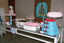 Scarlatti Festas e Eventos - Chá de bebê -Shabby Chic / Festa e eventos