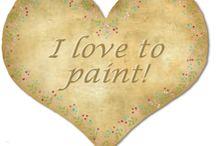 My digital paint / Scrap / by RosanaCafe