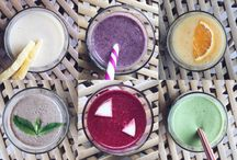 smoothies/drinks / by Vicki Spencer