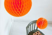 Oranje kleurinspiratie
