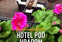 Hotel Pod hradom Trenčín Slovakia / Hotel
