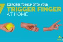 tigger finger