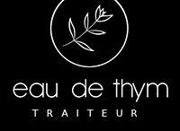 EAU DE THYM traiteur Montpellier