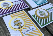 Stampin Up - Endless Birthday Wishes