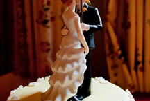 Cake Toppers / Some vintage, some cute, many beautiful & some just plain fun for the top of your cake.