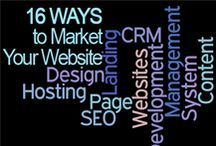 16 Ways To Market Resources from bWyse Internet Marketing FREE Workshops / View this board to see images, links and references that were mentioned in our 16 Ways to Market Your Website for Business Workshops.