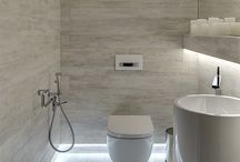 Bathroom design and lights