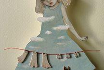 Бумажные Куклы Маки Хино