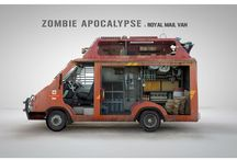 Zombie survival vehicle
