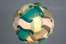 Swirlamp Kleurthema's / Door het mixen van verschillende sets kleuren kun je zelf leuke combinaties maken