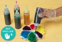 Fabric, Fiber Arts and Tie Dyeing Crafts / Crafts made from Fabric, fiber and other media and tye dyed crafts