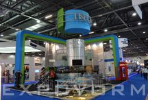 Etage,- Douple floor Expovorm standbouw / Douple floor exhibition design Expovorm international standbouw