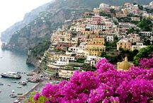Amalfi Coast / The most beautiful place.  My parents honeymooned here. / by Caroline Evans