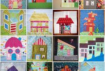 Quilts & Art ~ Houses / by Jane Ramee