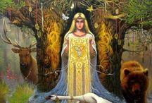 Femminile ancestrale - dipinti