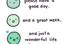 Chibird! / These have funny, inspirational, and relatable quotes!