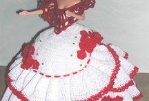 Crochet fashion doll Barbie