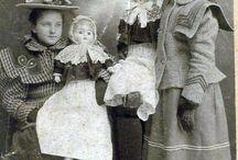 Дети и куклы на старинных фотографиях