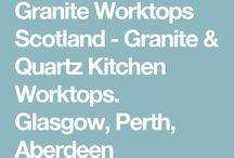 Granite Worktops Glasgow, Edinburgh, Perth, Dundee & Aberdeen.