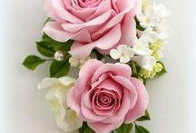 agyag virág