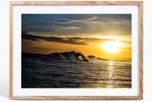 Photo prints / Images photoshopped onto a frame, to get an understanding of what an image looks like printed
