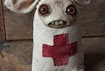 Dolls by Amanda Louise Spayd / Fabric Dolls