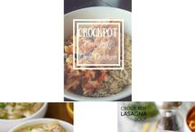 Food || Crock Pot / All crock pot recipe inspired. Anything you can drive up in your crock pot.