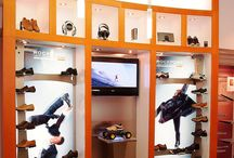 Rockport©  / DNS Industries manufactured displays and store fixtures for Rockport- Downtown Toronto Store Project