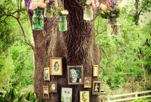 Quirky woodland wedding
